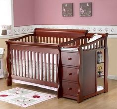 Sorelle Tuscany Crib and Changer - def the kind of crib I want