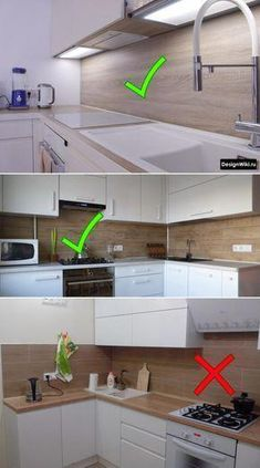 The correct way of lighting is to produce indirect light. This is the Best demon… in 202 The correct way of lighting is to produce indirect light. Kitchen Layout Plans, Kitchen Pantry Design, Modern Kitchen Design, Home Decor Kitchen, Interior Design Kitchen, Kitchen Planning, Modern Kitchen Cabinets, Room Kitchen, Kitchen Ideas