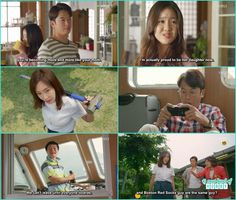 baek hee husband sell the house and took all the money and install a cctv camera with hismobile phone jung mi come and ask baek hee why she sell te house without telling anyone - Baek-Hee Has Returned Drama Review