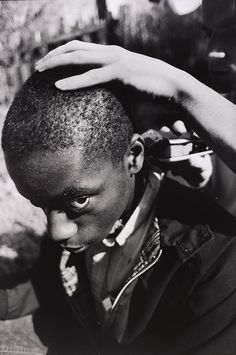 Gavin Watson, 'Barry's Haircut', Museum no. © Gavin Watson / Victoria and Albert Museum, London. Supported by the National Lottery through the Heritage Lottery Fund. Beat On The Brat, Skinhead Fashion, Youth Subcultures, Jamaican Music, Man About Town, V & A Museum, Acid House, Teddy Boys, Gelatin Silver Print