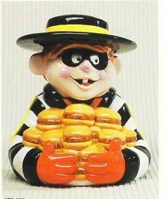 Hamburglar...McDonald's ad character