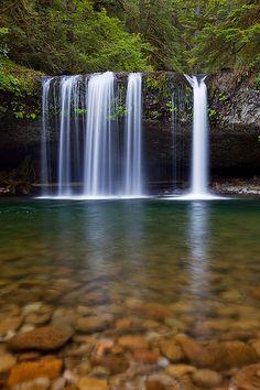 Butte Creek Falls - Marion County, Oregon   ~ Waterfall