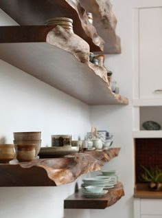 Inspiration File: Decorating With Raw and Live-Edge Wood