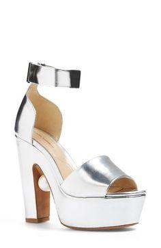 Nicholas Kirkwood 'Maya' Ankle Strap Platform Sandal (Women)