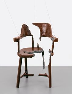 URS FISCHER - CHAIR FOR A GHOST, 2003