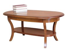 Oval Queen Anne Coffee Table This oval coffee table is featured in