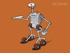 Glennz Tees Concepts for Voting Jul-Dec 2012 by Glenn Jones, via Behance
