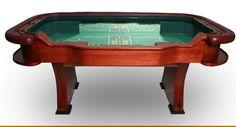 Custom Casino quality 7 foot craps table