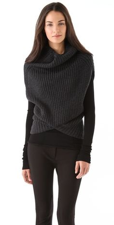 amazing 3.1 Phillip Lim cocoon sweater via @Shopbop