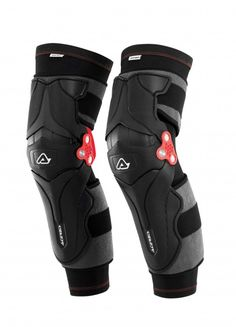 Acerbis X-Strong Knee Guard Perfect for riders who need more protection than a tradition knee guard but do not want the additional bulk and expense of orthopedic knee braces, the new X-Strong Knee Guard showcases comfort, style, and strength. The kneecap, tibia, and the lower part of the femur are protected by Acerbis P.O.I Technology, a sandwich of thermoplastic material and padding that offers high energy absorption from shock. Designed to complement the knee's anatomy, the X-Strong Knee…