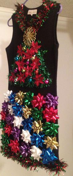 My tacky Christmas dress :) - My tacky Christmas dress 🙂 Source by - Redneck Christmas, Tacky Christmas Party, Christmas Party Themes, Christmas Events, Office Christmas, Christmas Costumes, Christmas Wishes, Christmas Time, Christmas Crafts