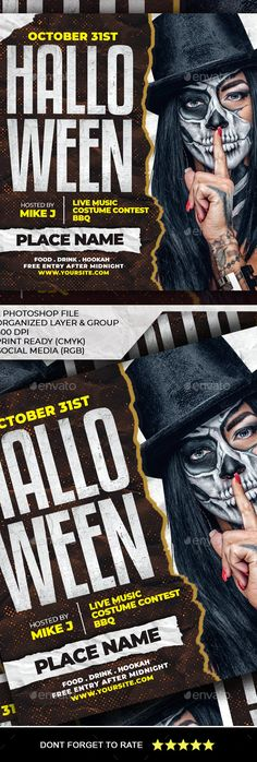 Halloween Flyer by AyumaDesign | GraphicRiver