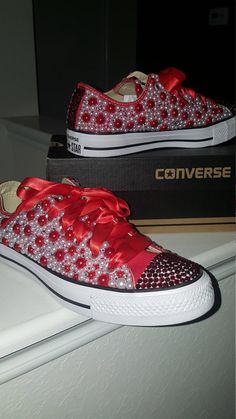 When purchasing please provide me with your size selection in the comment box. Please keep in my converse is unisex and normally runs big. Example if you wear a size 8 women you may take a size 7 women in converse. Pink Prom Shoes, Bling Wedding Shoes, Wedding Sneakers, Bling Shoes, Wedding Converse, Rhinestone Shoes, Bedazzled Converse, Converse Shoes, Shoes Sneakers