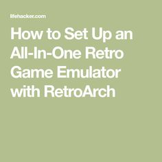 21 Best Retro Emulation images in 2018 | All in one, Android