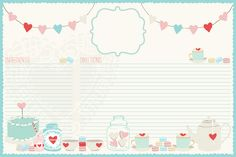 The Cottage Market: Graphic of the Day Adorable Recipe Card Free Printable