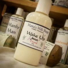 Check out this item in my Etsy shop https://www.etsy.com/listing/258738430/wake-up-goat-milk-cream-with-elemi