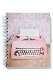 a5 collegiate notebook, TYPEWRITER