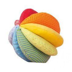 Fabric ball Rainbow