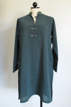 Amir Aduar Traditional Indian Kurta Kurti Boho Hippie Tunic, $35.00