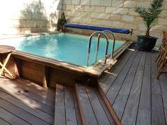 Piscines bois, petite piscine hors sol enterrée Plus
