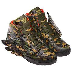 Adidas Wings Camo Shoes By Jeremy Scott Roman Courier Mercury The God Of Commerce And T Adidas Jeremy Scott Wings Adidas Shoes Originals Sneakers Men Fashion