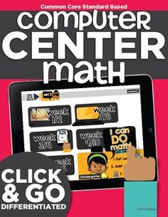 Standards-based interactive online activities, games and cool math for kids to complete using the computer or laptops!  an entire year's worth of kindergarten MATH computer center lessons