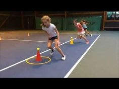 Many people do not realize that beyond the initial beginnings of tennis that the sport can actually be very dangerous. Physical Activities For Kids, Physical Education Lessons, Preschool Games, Tennis Workout, Basketball Workouts, Basketball Shoes, Football Drills, Volleyball Drills, Sports Day