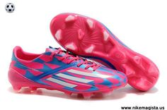 Adidas F50 AdiZero TRX FG (Pink White Blue) Cleats