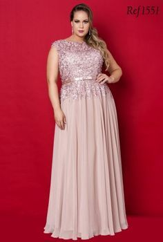 vestidos longos plus size para casamento - Pesquisa Google
