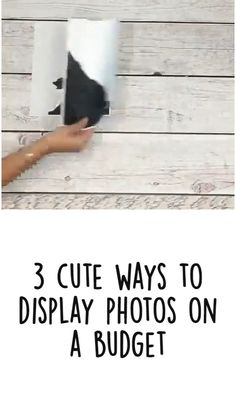 Diy Crafts For Girls, Diy Home Crafts, Diy Home Decor, Cool Ideas, Giant Shnauzer, Farmhouse Style Table, Budget Home Decorating, Photo Craft, Photo Displays