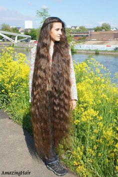 Beautiful Long Hair, Gorgeous Hair, Amazing Hair, Really Long Hair, Super Long Hair, Long Hair Models, Rapunzel Hair, Long Wavy Hair, Dream Hair