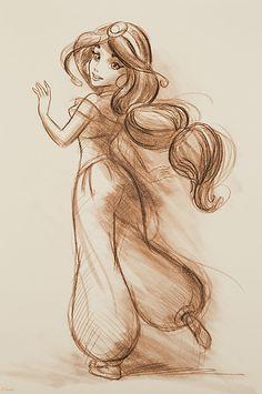 Disney Store: Art of Jasmine:)