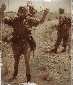 British soldiers taken prisoner by German paratroopers on Crete, 1941