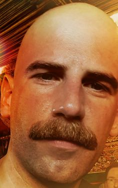 perfect moustache