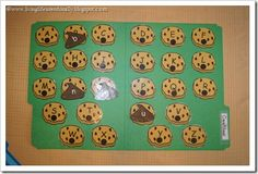 Cookie Matching ABCs-upper and lowercase letters