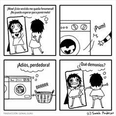 20 Cómics acerca de lo difícil que es ser niña - Taringa!