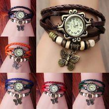 7 cores originais de alta qualidade pulseira de couro relógio Digital do estilo moda Lady mulheres Quartz relógio de pulso relógios SY022
