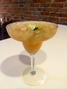 Ladybird Diner - Made-in-house Tepache... Shape of a Margarita.