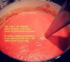 Healthy, hidden veggie tomato sauce for Kids
