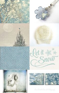 First Snow by Susan Fischer on Etsy--Pinned with TreasuryPin.com