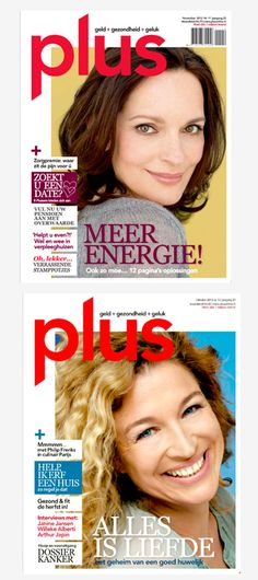 Cover Plus Women Magazine Layout Grid Design Graphic Typograpy Photo