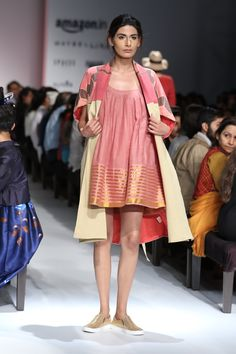 #AIFWSS16 #fashionweek #EXAMPLE #Moutushi #Rituraj #explore #handmade #tie #dye #spring #summer #techniques #local #crafts #optimistic #easy #heritage #traditional #Indian #modern #new #original #creative #cotton #dress #bright #travelFriendly #infused #label #comfortable #prints #dress #stripes #SummerCoat #shoes #sporty #smart #clean