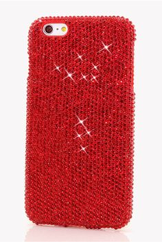 Bright Red Crystals Design Bling iPhone 6/ 6s Plus Case  http://luxaddiction.com/collections/flat-designs/products/bright-red-crystals-design-style-929