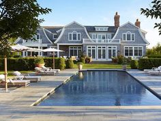 Outdoor  pool  & house