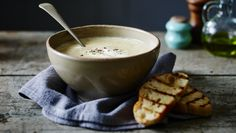 Roasting really brings out the sweet, earthy flavour of parsnips and makes for a wonderfully aromatic soup.   Each serving provides 184kcal, 4g protein, 12g carbohydrate (of which 8g sugars), 12g fat (of which 5g saturates), 3.5g fibre and 0.8g salt.