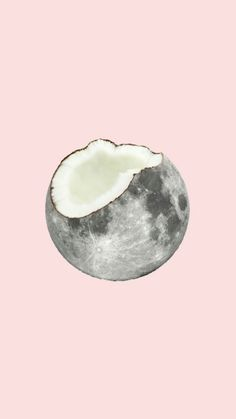 Moon • coconut • iPhone wallpaper