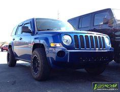 Lifted Jeep Patriot - Venom Motorsports - Grand Rapids,MI ,US - Jeep Patriot Lifted, Lifted Jeeps, Custom Jeep, Custom Cars, Mopar Or No Car, Jeep Cars, Offroad, Michigan, Jeep Stuff
