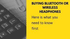 Best Bluetooth Headphones, Bluetooth Speakers, Computer Keyboard, Need To Know, Stuff To Buy, Computer Keypad, Keyboard