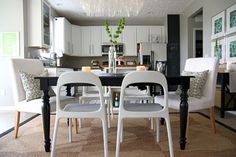 Image result for mix and match dining chairs