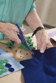 How to iron felt fabric